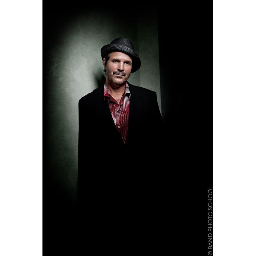 Billy Seward Leaning on Green Concrete - Blues Guitarist Promo1 (3).jpg