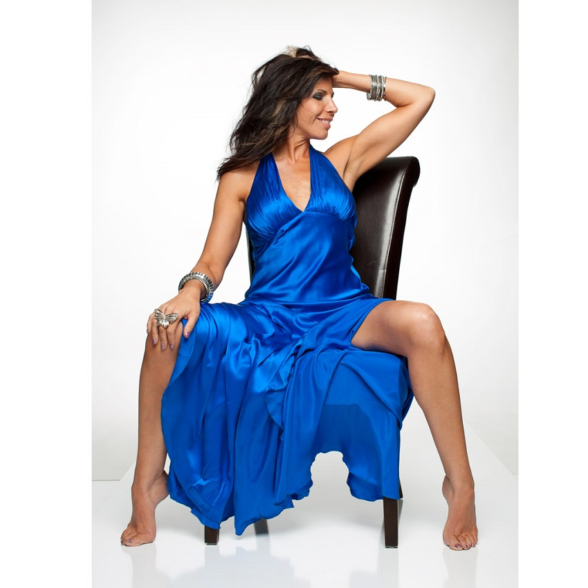 Cristi Vale in Blue Dress on White Seamless - Singer Vocalist Promo (1).jpg