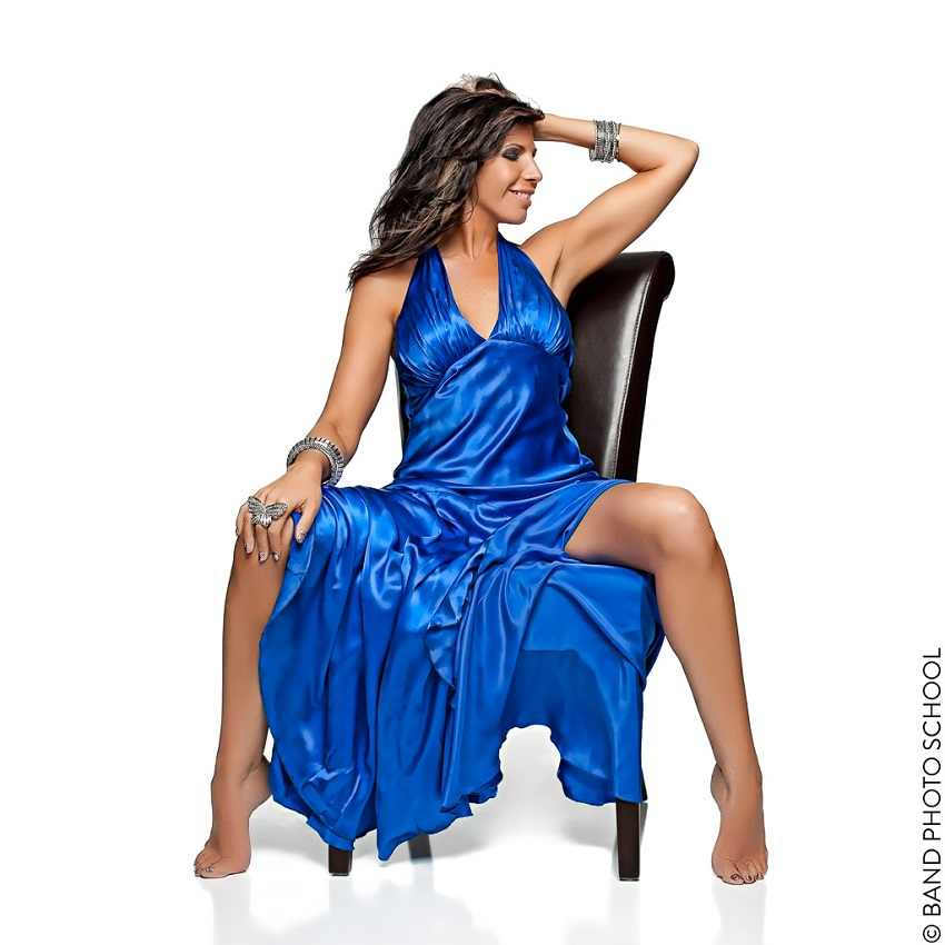 Cristi Vale in Blue Dress on White Seamless - Singer Vocalist Promo (2).jpg