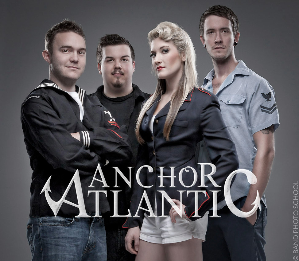 Anchor Atlantic on Gray - Band Promo