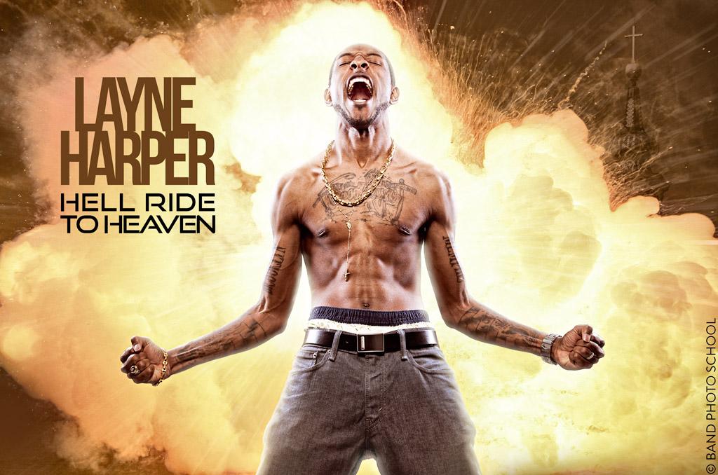 Layne Harper Fire Explosion - Hip Hop Composite