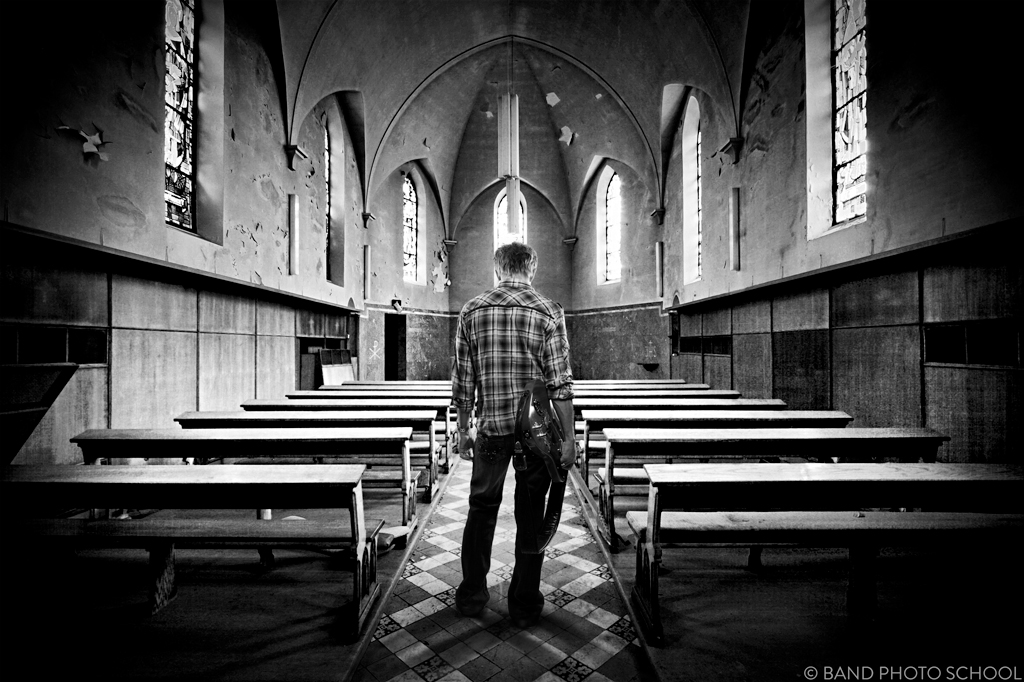 Abandoned Church zach taylor in an abandoned church