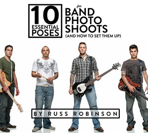 10 Essential Poses for Band Photo Shoots eBook Cover