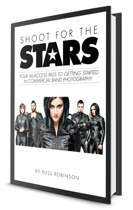 Shoot for the Stars Band Photography eBook Cover