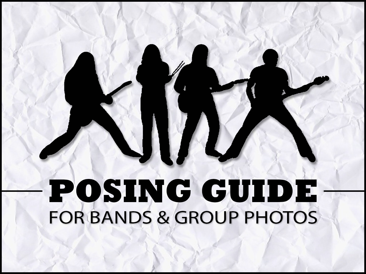 30 Awesome Ideas for Band Photo Shoots – Band Photo School